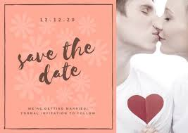 Save The Dates Wedding Customize 4 982 Save The Date Invitation Templates Online Canva