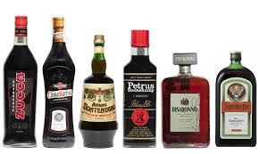 Risultati immagini per amari liquori