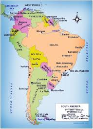 Map Of South America Free Large Images In 2019 South