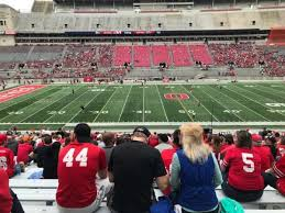 Ohio St Football Stadium Seating Chart Ohio Stadium Section 22a Home Of Ohio State Buckeyes