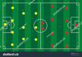 Template Soccer Formation Template Pin Field Diagram On Free