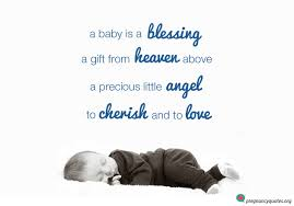 Little Boy Quotes Simple A Baby Is A Blessing Cute Sweet Saying Pregnancy Quotes