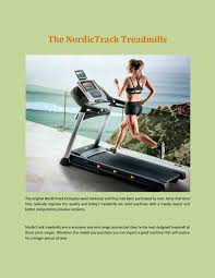 Nordictrack treadmill by Wendy McDaniel - issuu