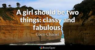 Girl Quotes And Sayings Stunning Coco Chanel Quotes BrainyQuote