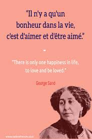 Learn French The Right Way Littératuregeorge Sand Citation