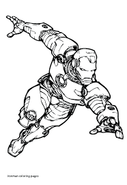 Ironman Coloring Coloring Coloring Page Printable Coloring Pages