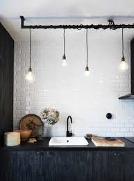 indoor lighting designer. industrial style kitchen with wrapped cord lighting design vintage furniture antiques indoor designer