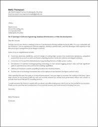 Cover Letter Sample For Software Developer