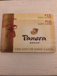 panera bread gift card 30 1 of 1 see more