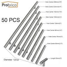 Probrico 50 Pcs Diameter 12mm Cc 50mm256mm Stainless Steel Kitchen