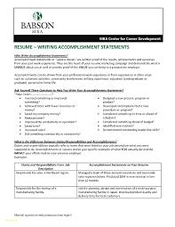 Resume Accomplishments Sample Resume Accomplishments Sample Inspirational Samples Of Achievements 9