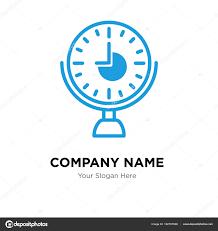Firma Logo Design Uhr Firma Logo Design Vorlage Stockvektor Provectorstock