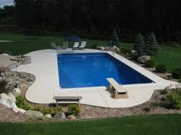 Rectangle Swimming Pool - Helenville
