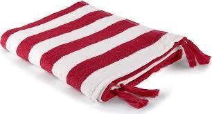 "<b>Полотенце Moroshka</b> ""<b>Maritime</b>"", цвет: белый, красный, 70 х 140 ..."