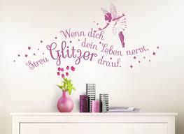 Wandtattoo Spruch Wenn Dich Dein Leben Nervt Mit Fee W5064