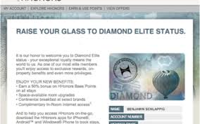 I Finally Status Matched To Hilton Diamond One Mile At A Time