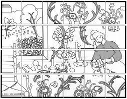 Henri Matisse Coloring Pages Eskayalitim