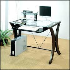 glass computer desk office depot office depot realspace limble glass computer desk