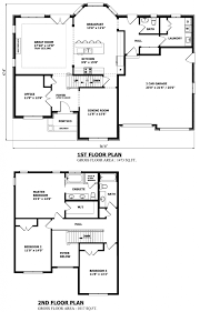 square 2 story house plans
