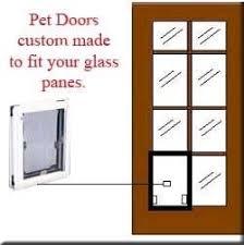 exterior door with window and dog door. french door ~ maxseal pet doors custom made exterior with window and dog u