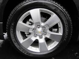 Factory wheel specs? - Chevy Traverse Forum: Chevrolet Traverse Forum