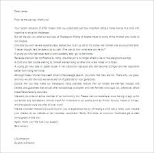sample donor thank you letter thank you letter for donation 9 free sample example format