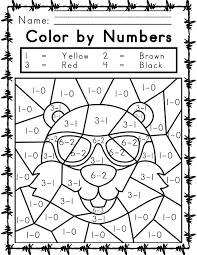 Grab your favorite crayons, markers or water colors and use the. Printable Easy And Hard Color By Number Games 101 Coloring