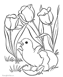 Small Picture flower coloring pages for kids to print Easter Flower Coloring