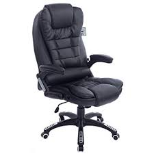 Nice office chairs uk Leather Executive Recline Extra Padded Office Chair standard Black Amazon Uk Executive Recline Extra Padded Office Chair standard Black