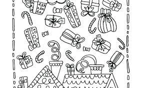 Christmas List Coloring Sheets Mymandarininfo