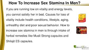 How To Increase Stamina In Men With Natural Aphrodisiac Pills