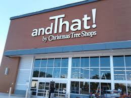 And That! by Christmas Tree Shops officially opened its doors this morning.  The store is located at 1728 Route 46 west, at the site of the former A&P  ...