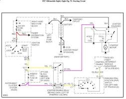 1997 oldsmobile delta 88 no power to starter electrical problem here is a schematic of the starting circuit