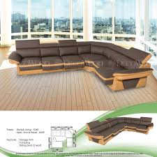 atlanta l shape fully leather sofa lounge chair living hall sofa chair with 10 years warranty