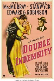 A life insurance contract does not resemble a contract of indemnity because the insurer does not undertake to indemnify the assured for any loss on maturity or death of the assured but promises to pay sum assured in that event. Double Indemnity Paramount 1944 One Sheet 27 X 41 Life Lot 28098 Heritage Auctions