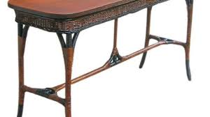rattan console table. Awesome Art Deco Wicker Sofa Table Tables And Sunroom Rattan Console A