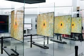 lg wallpaper tv. best tvs of ces 2017 - including lg\u0027s \u0027wallpaper\u0027 tv, samsung\u0027s qled and sony\u0027s glass speaker screen lg wallpaper tv