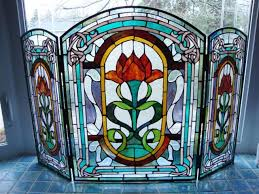 stained glass fireplace screens if you like to save money you should check out these