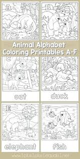 Alphabet Coloring Pages Az Pdf Alphabet Letter Coloring Pages