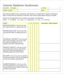 Customer Satisfaction Survey Template Best Templates Survey Templates And Worksheets
