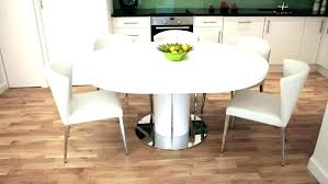 round table and chairs for kitchen 6 set circular dining captivating