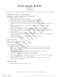 Dental Hygiene Resume Templates Resume For Your Job Application