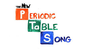 the new periodic table song slowed down instrumental asap science