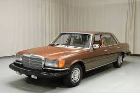 Unique with no sun roof, lpine cassett, owerantennaworks, ar has a side skirt package with front and rear pieces. 1979 Mercedes Benz 450 Sel 6 9 Sedan Sold By Hyman Ltd Classic Cars