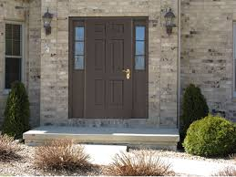 front door with sidelitesFiberglass for Front Entry Doors with Sidelights  Design Ideas