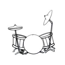 metal drum set wall art