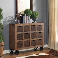 martin furniture accent cabinet. Martin Furniture TwoTone Rustic Wooden Accent Cabinet In