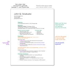 Bistrun : College Resume Recent Graduate Tips To Write College ...