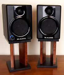 diy desktop speaker stands makify com for desk prepare 0