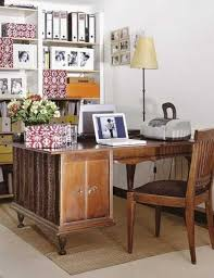 vintage office table. Wooden Office Desk With Drawers And Chair, Unique Furniture For Home Design In Vintage Style Table
